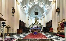 La Iglesia donde se cometió el robo