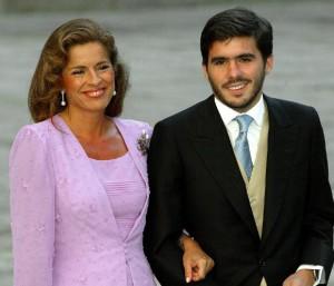Aznar Jr. y Ana Botella