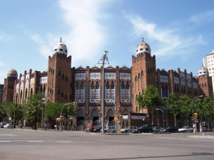 Plaza de toros Monumental de Barcelona.