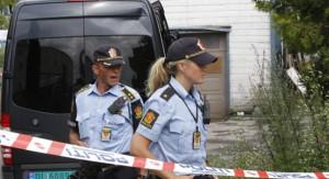 Dos agentes de la Policía noruega.