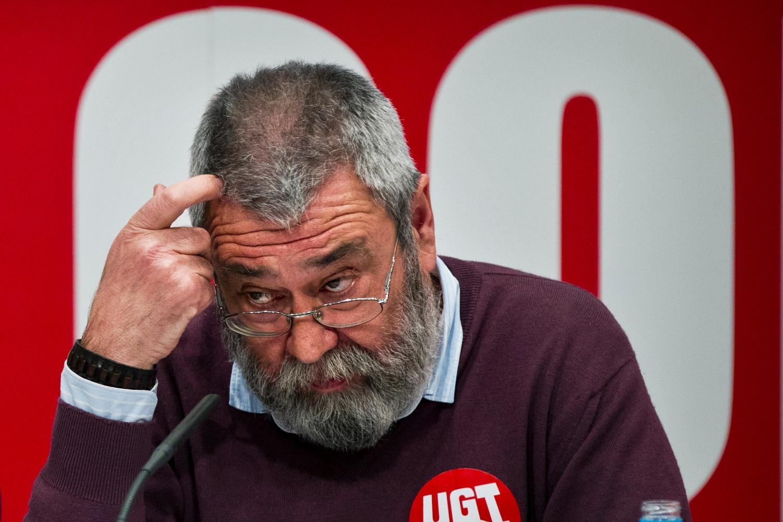 El líder de UGT, Cándido Méndez.