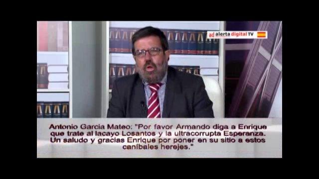Fotograma de una de las intervenciones de Enrique de Diego en 'La Ratonera'