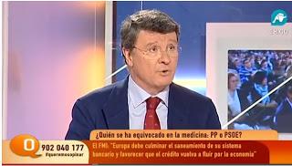 Rafael López Diéguez, en una de sus intervenciones en la cadena de Ariza