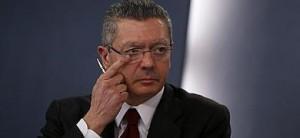 El ministro de Justicia, Alberto Ruiz Gallardón.