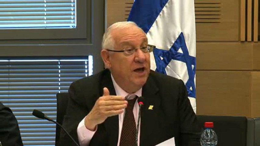 Reuven Rivlin, portavoz del Parlamento israelí