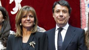 En la foto, Lourdes Cavero, junto a Francisco González, su esposo