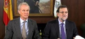 Rajoy, junto a Morenés
