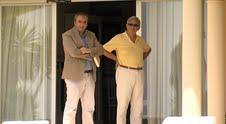 Roberto Centeno (d) y Armando Robles