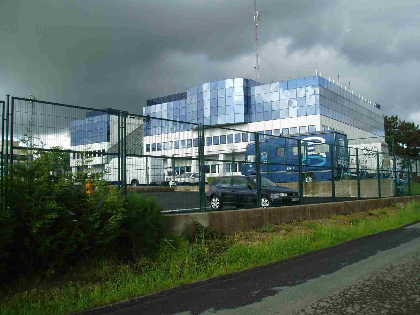 Edificio de la Televisión gallega