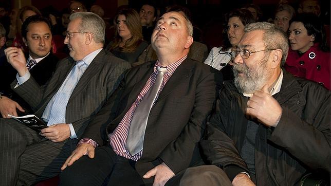 Pastrana y Méndez, durante el acto conmemorativo del 30 aniversario de UGT Andalucía