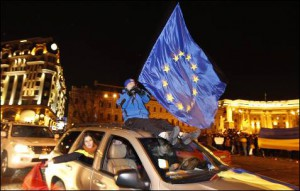 Las movilizaciones quieren presionar al presidente ucraniano para que integre al país en la UE.