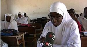 Una niña catalana en una madrasa