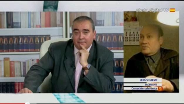 Secuencia de la entrevista el Padre Calvo en 'La Ratonera' del jueves 9