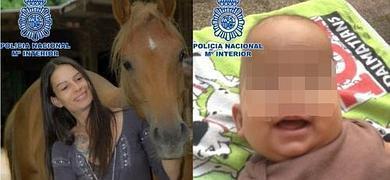 La mujer y su hijo, en una imagen facilitada por la Policía.
