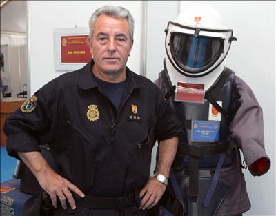 El ex-comisario jefe de los Tedax, Juan Jesús Sánchez Manzano