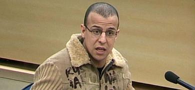 El exconfidente de la Guardia Civil Rafá Zouhier, durante el juicio del 11-M.