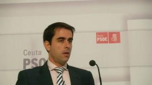 El secretario general del PSOE de Ceuta, José Antonio Carracao