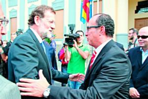 Mariano Rajoy y Abdelmalik El Barkani