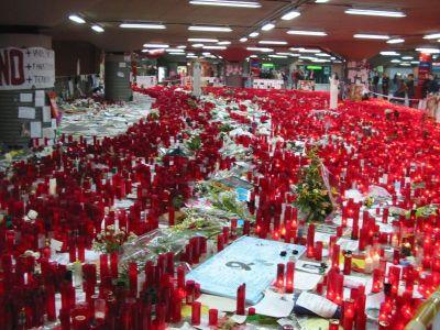 La estación de Atocha, tras el atentado