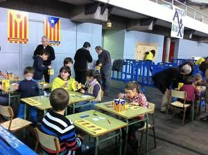 Imagen de una escuela catalana
