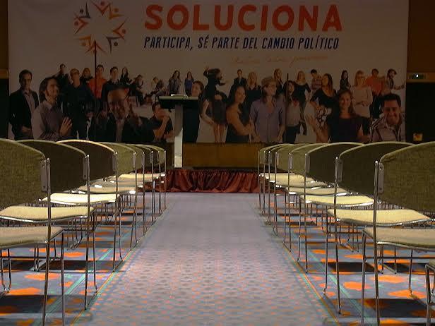 Foto del salón Llimona, escenario al acto de SOLUCIONA en Barcelona