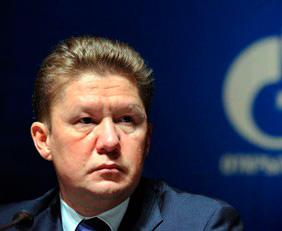 Alexei Miller, presidente de Gazprom