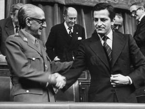Gutierrez Mellado y Adolfo Suárez