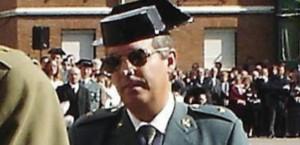 Antonio Tejero Díez, en un acto militar en León.