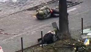 Los francotiradores fueron dueños de las calles de Kiev