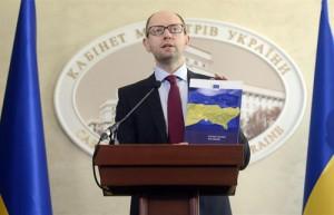 Arseni Yatseniuk, primer ministro ucraniano