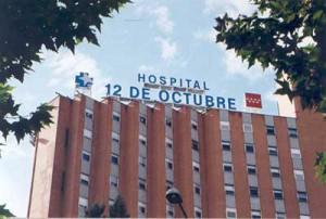 Imagen del '12 de Octubre', donde se encuentra hospitalizado el 'padre coraje'