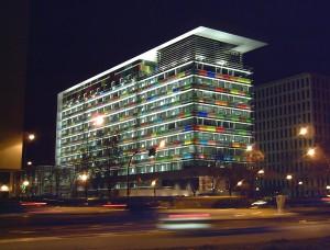 Edificio del Instituto Nacional de Estadística (INE)