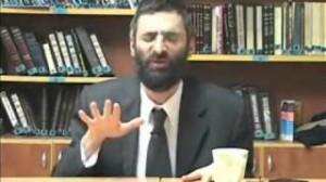 El rabino Ron Chaya