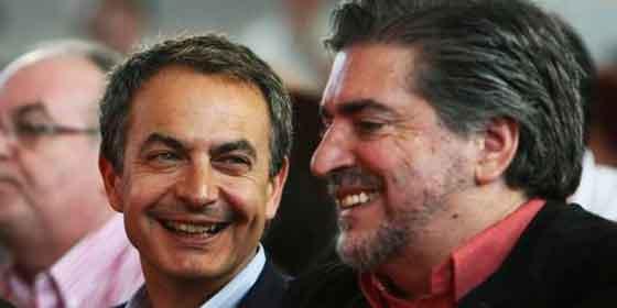 Zapatero con Eguiguren