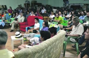 Imagen de la asamblea del Círculo de Murcia, celebrada el jueves por la noche.