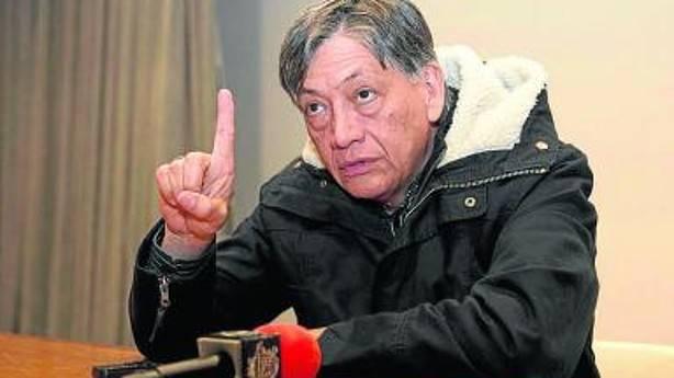 El embajador de Ecuador Miguel Calahorrano.