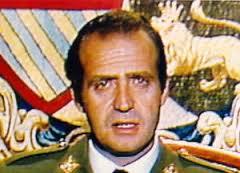 Don Juan Carlos en su intervención del 23-F.