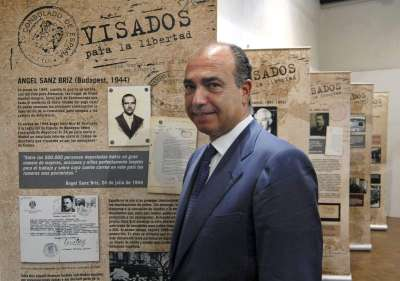 Isaac Querub, presidente de la Federación de Comunidades Judías en España