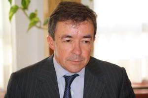 José Carrillo, rector de la Universidad Complutense.