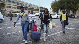 Llegada a Málaga 61 subsaharianos procedentes del CETI de Melilla