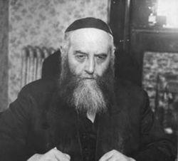 Imagen del rabino Joseph Isaac Schneersohn.