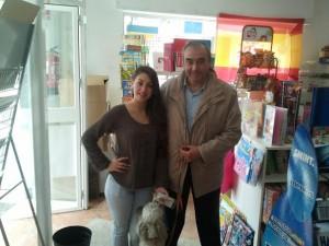 Rosa Moreno y Armando Robles.