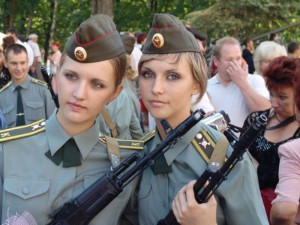 Soldados rusas