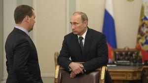Putin, en una reunión ayer en Moscú