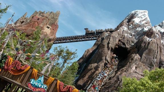 Atracción de Disney World en Orlando.