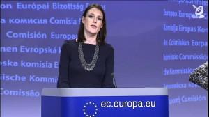 La portavoz responsable de Eurostat, Emer Traynor.