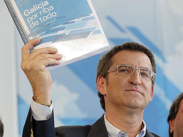 Núñez Feijóo, presidente de Galicia (PP)
