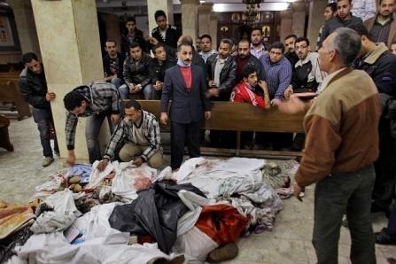 Matanza de cristianos en una iglesia de Siria a manos de islamistas