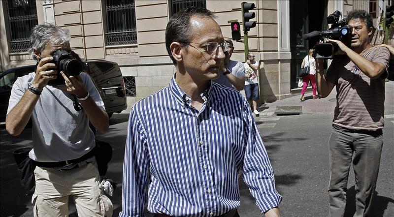 El consejero de Gowex, Francisco Manuel Martínez Marugán, a su salida de la Audiencia Nacional
