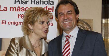 Dos sionistas de pro: Pilar Rahola y Artur Mas